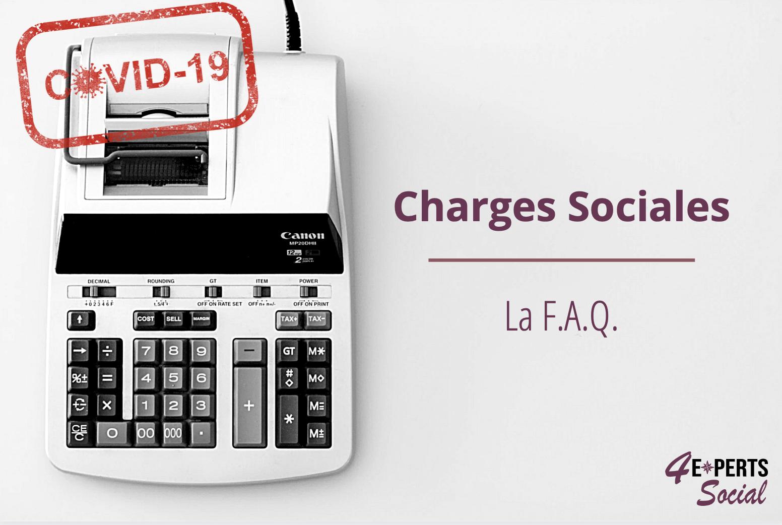 Charges Sociales - la F.A.Q.