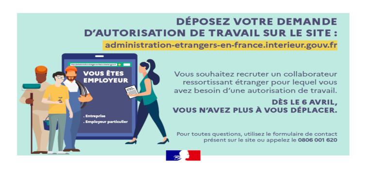 Modernisation et simplification des démarches pour les salariés étrangers - la demande d'autorisation de travail se fait en ligne - gouvernement